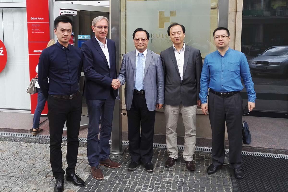 Spotkanie z przedstawicielami Shenzen-CEECs Economy and Culture Promotion Association