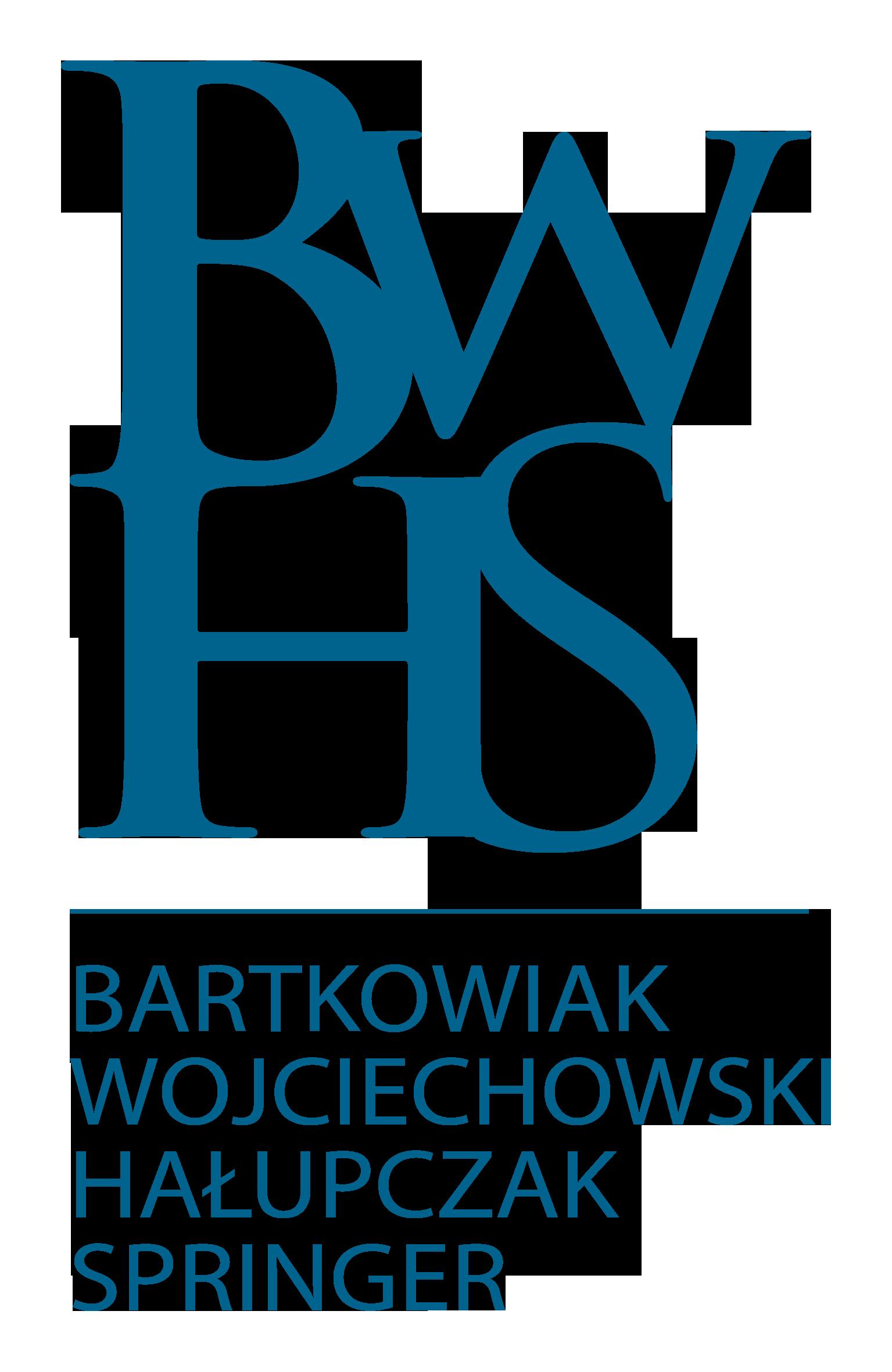 BWHS Bartkowiak Wojciechowski Hałupczak Springer